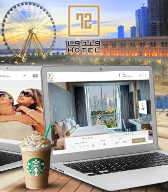 hotal-72 website Portfolio